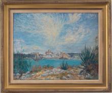 View Across the Harbor, Toward Hamilton