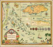 George Annand Map of The Island of the Bahamas