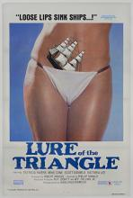 Lure of the Triangle - Original Vintage Movie Poster