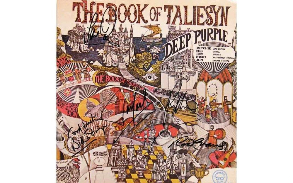 The Book Of Taliesyn Deep Purple