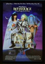 Beetlejuice - Signed Movie Poster