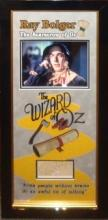 Wizard of Oz Scarecrow Collage