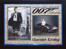 James Bond Casino Royale Collage