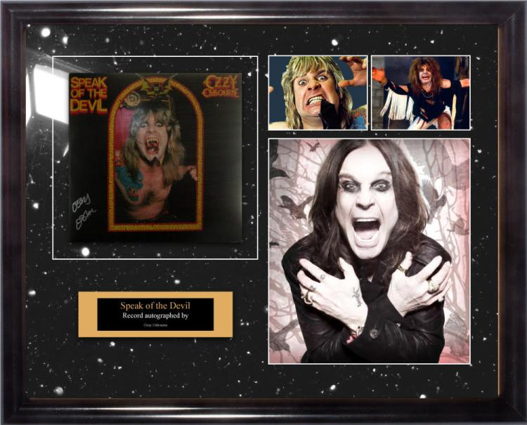 ozzy speak of the devil album. Black Bedroom Furniture Sets. Home Design Ideas