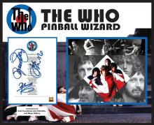 Who Pinball Wizard Signed Lyrics