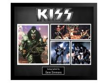 Kiss Gene Simmons Collage