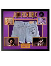 Jimi Hendrix Signed Shorts