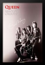 Queen Signed Poster