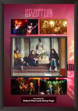 Led Zeppelin Collage Page/Plant