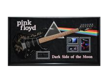 Pink Floyd Signed and Framed Guitar Dark Side Of The Moon