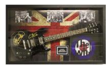 Who Signed and Framed Guitar