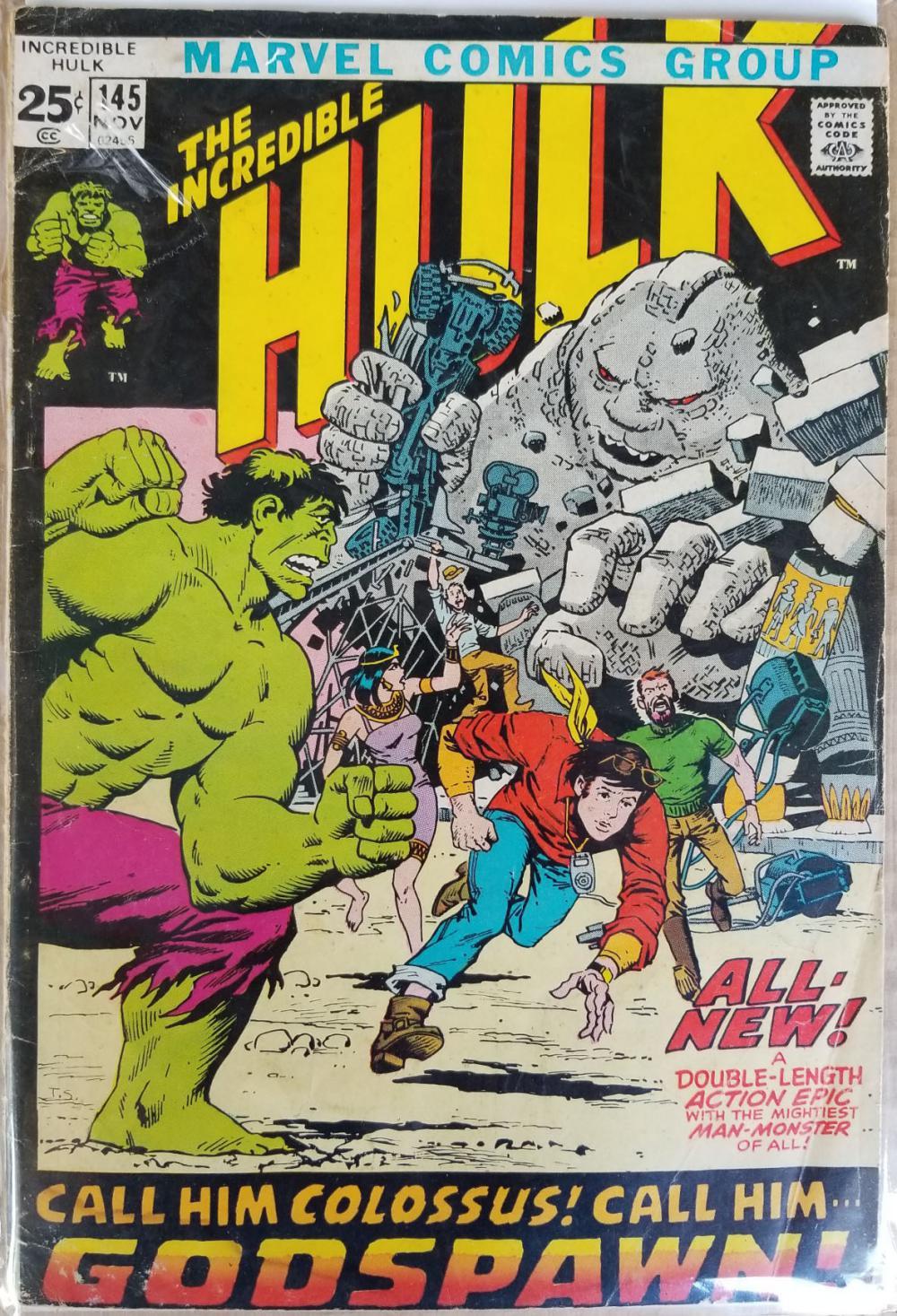 Incredible Hulk (1962-1999 1st Series) comic book