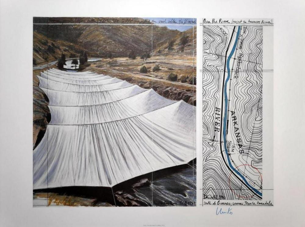 CHRISTO AND JEANNE-CLAUDE, THE GATES, PROJECT FOR