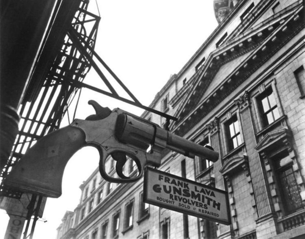BERENICE ALICE ABBOTT, CENTRE STREET - 1937