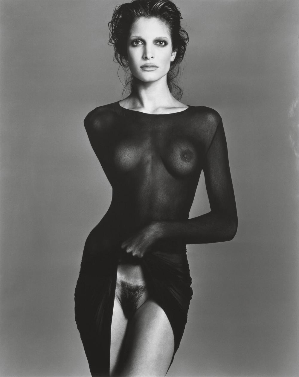 RICHARD AVEDON - STEPHANIE SEYMOUR, NY - 1992