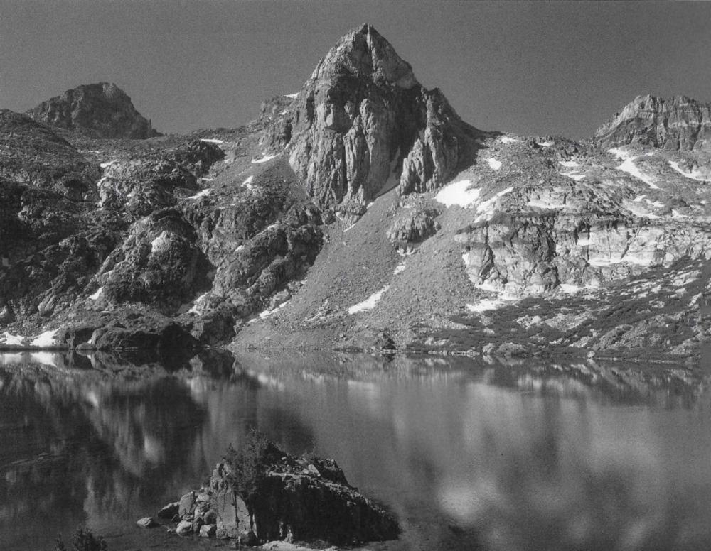 ANSEL ADAMS, RAE LAKES PAINTED LADY KINGS CANYON NATIONAL PARK 1932