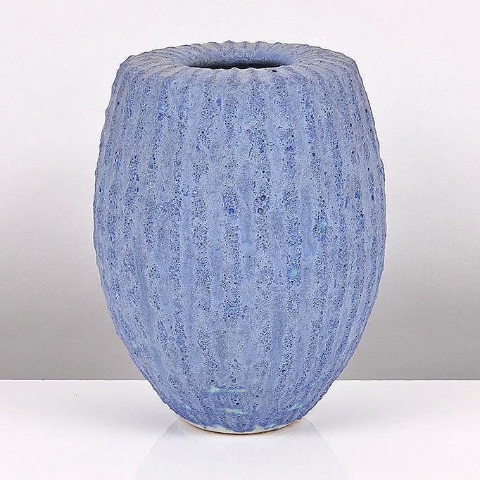 Peter Beard (British, b.1951) - Vase with Inverted Rim