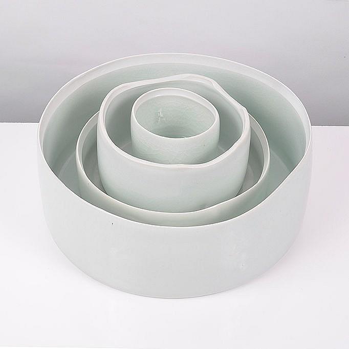 Edmund de Waal (British, b.1964) - Four Cylinders, circa 2005
