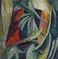 BOGOMAZOV, ALEKSANDR 1880-1930 Abstract Composition