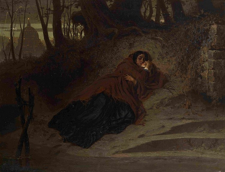 BRONNIKOV, FEODOR 1827-1902 Abandoned. The Vatican and Sin