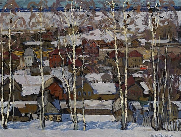 *POPOV, IGOR  (1927-1999)