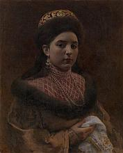 *LEBEDEV, KLAVDY  (1852-1916)