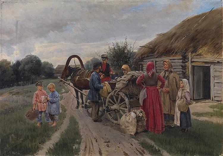 *KOROVIN, PETR  (1857-1919)