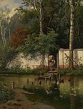 KISELEV, ALEXANDER (1838-1911) By a Pond