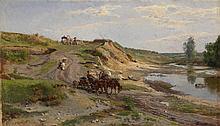 KISELEV, ALEXANDER (1838-1911) Down by the Stream