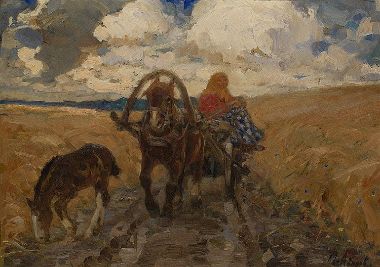 AVILOV, MIKHAIL Years: 1882-1954 The Farmer's
