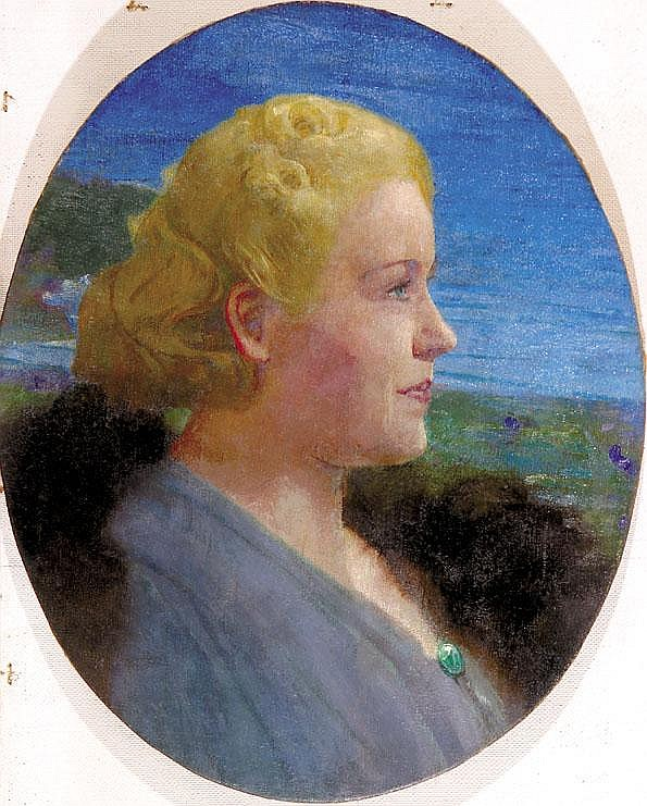 EBERLING, ALFRED Years: 1872-1951 Portrait of a