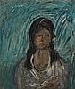 DREVIN, ALEXANDER (1889-1938), Portrait of a Woman, Aleksandr Drevin, Click for value