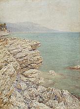 DUBOVSKOY, NIKOLAI (1859-1918) Rocky Coast