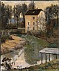 ALTMAN, ALEXANDER (1885-1950) White House by a, Alexander Altman, Click for value