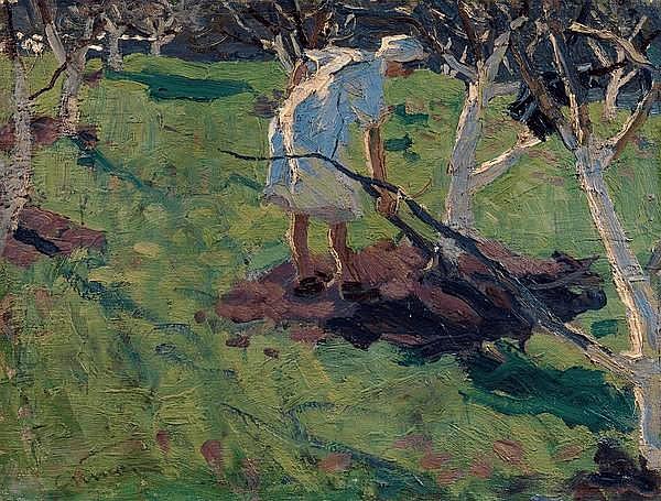 * TKACHEV, SERGEI (B. 1922) - Garden in Spring