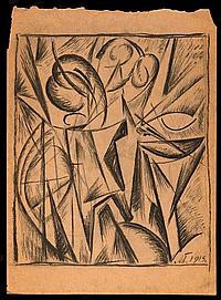 BOGOMAZOV, ALEKSANDR (1880-1930) - Composition