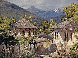 DUBOVSKOY, NIKOLAI (1859-1918) - Mountain Village