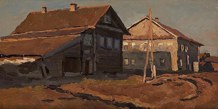 STOZHAROV, VLADIMIR 1926-1973 A Village House