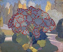 BOGOMAZOV, ALEKSANDR 1880-1930 Apple Tree