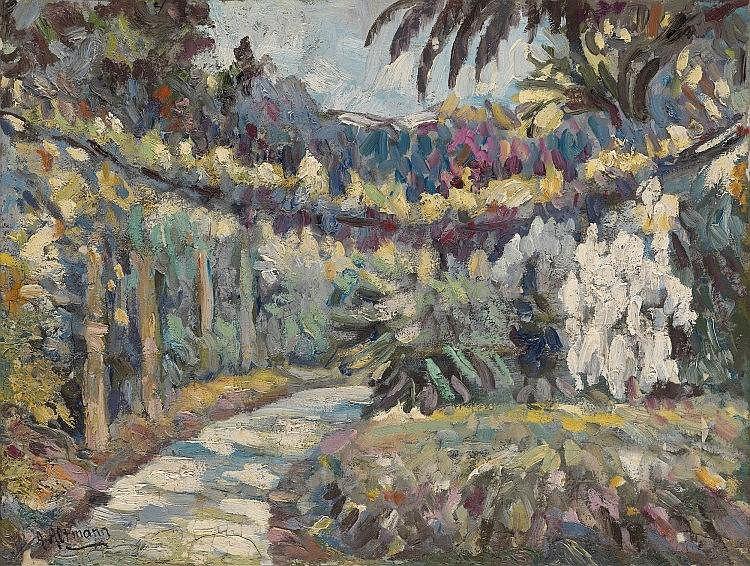 *§ ALTMAN, ALEXANDER (1885-1950) Park Walkway