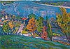GLOUSCHENKO, NIKOLAI (1901-1977) Landscape, Nikolai Glouschenko, Click for value