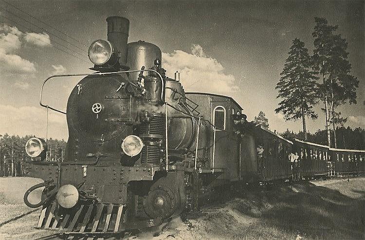 GRACHEV, MIKHAIL (1916-2009)  Children's Railway Built by Schoolchildren