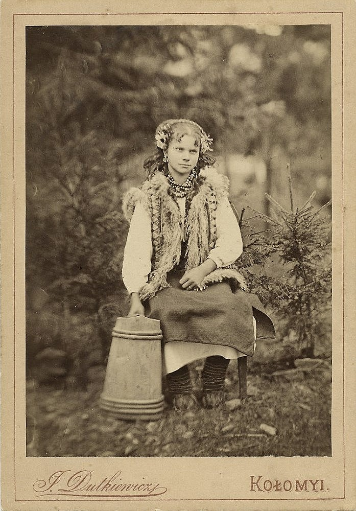 DUTKEVICH, YURI (19TH CENTURY)  A Collection of Character Portraits and Life Scenes from Western Ukraine