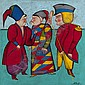 CHEMIAKIN, MIKHAIL B. 1943 Untitled signed and, Mihail Chemiakin, Click for value