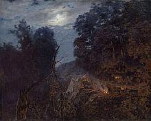 DUBOVSKOY, NIKOLAI - (1859-1918) At Dawn