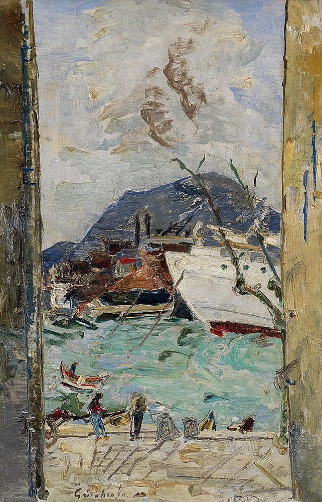 GRISHENKO, ALEXEI 1883-1977 Port de la Ciotat