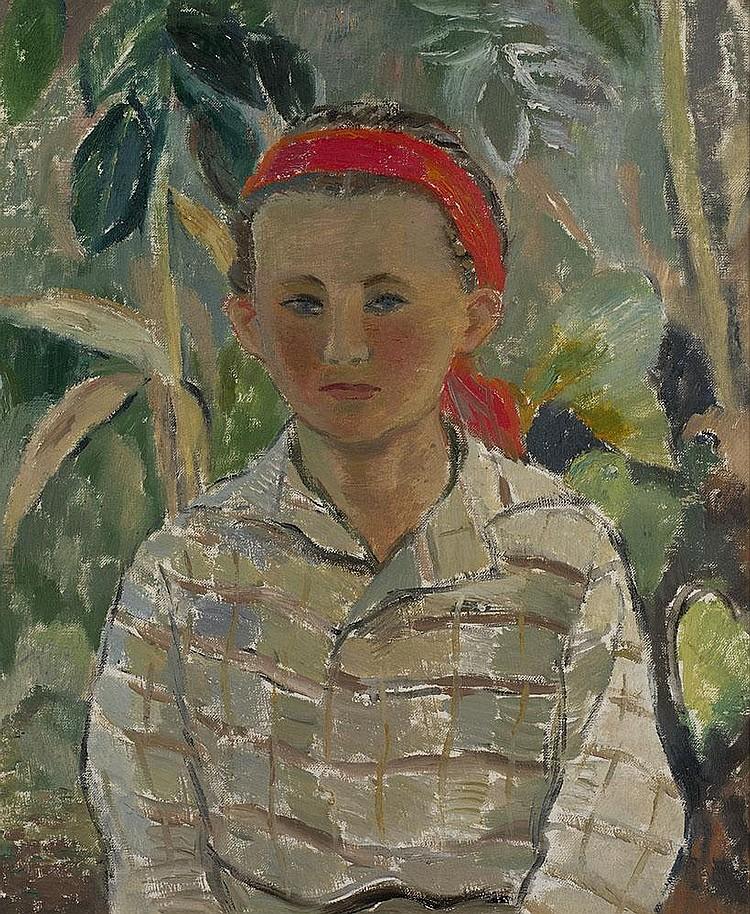 SOFRONOVA, ANTONINA 1892-1966 Man'ko signed,