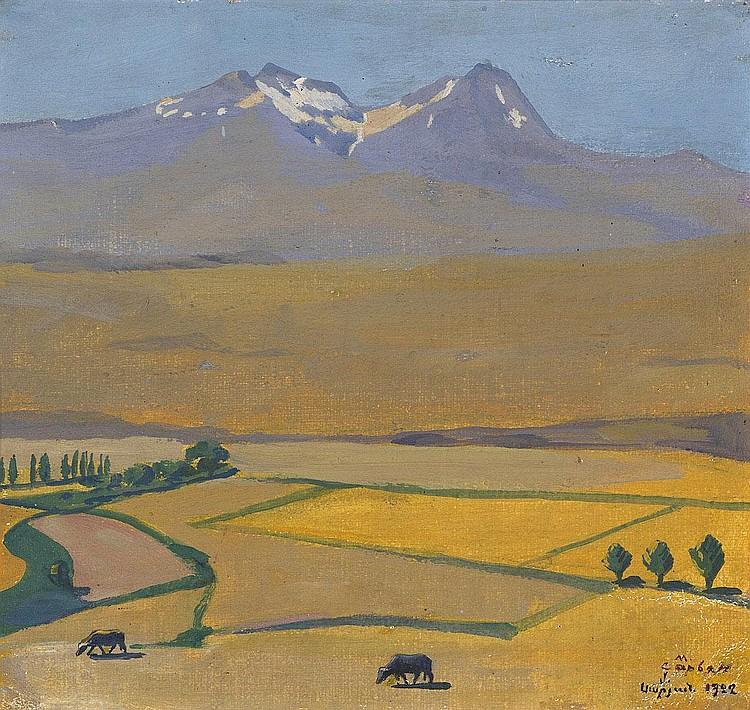 SARYAN, MARTIROS 1880-1972 Aragats in Summer