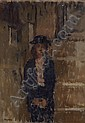 RABINOWICZ, BENEJOU 1905-1989 Girl in a Hat,  Benn (1905), Click for value