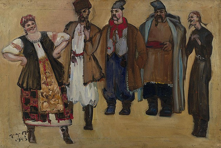 FEDOROVSKY, FEDOR 1883-1955 Costume design for the